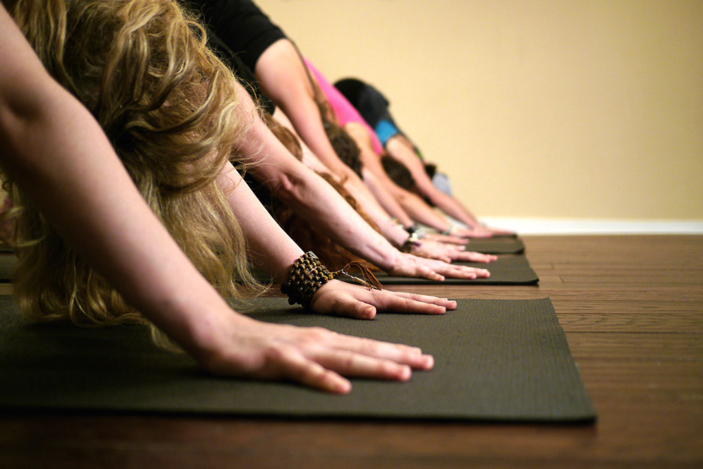 Yoga Class in Fredericksburg VA Downward Dog